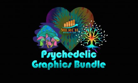 FREE Psychedelic Niche Graphics Bundle from Merch Momentum